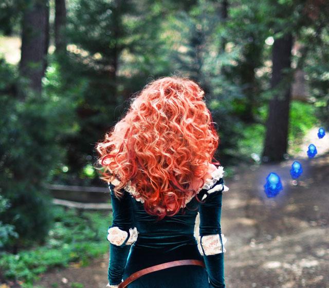 DIY-Merida-Costume-back-of-Hair