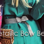 DIY Metallic Bow Belt-feature