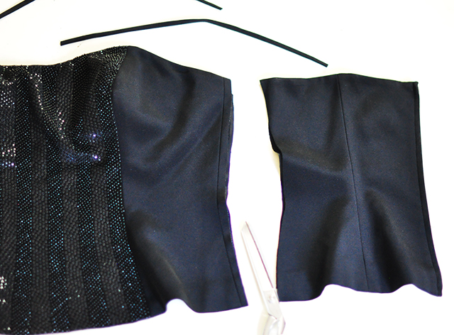 DIY Open Back Lace Up Top- 3