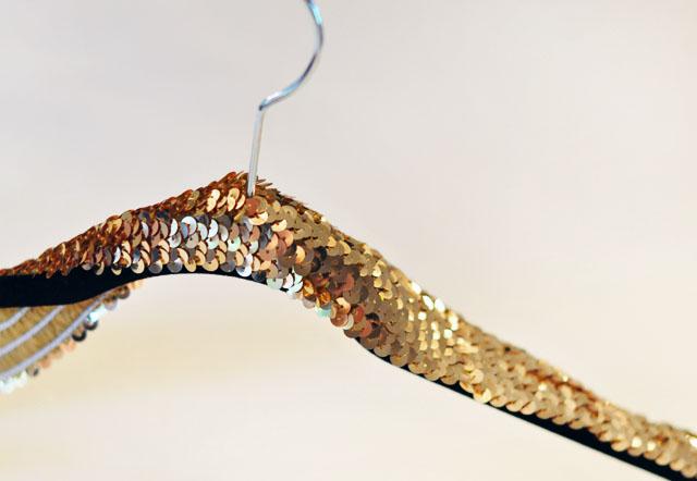 DIY Sequin Hanger-3