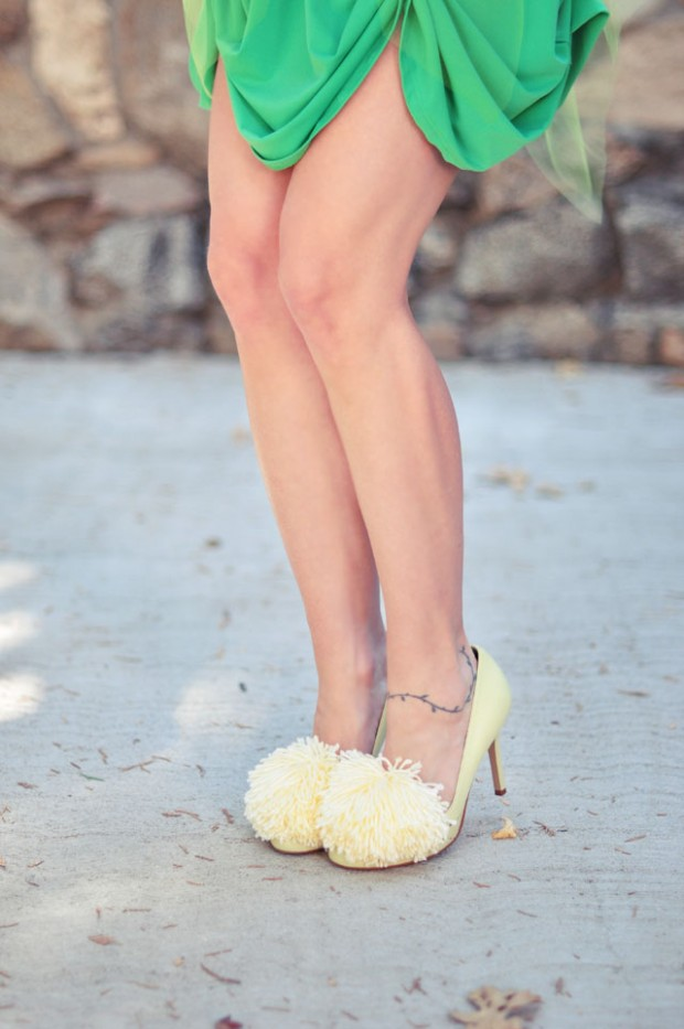 DIY Tinkerbell Shoes and Skirt-1