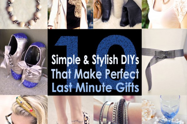 DIY gifts for the holidays fashion
