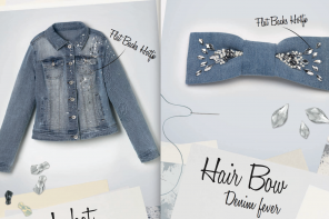 2 Cute Retro DIY Denim Ideas by Swarovski