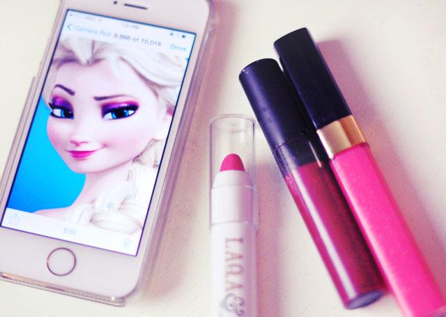 Elsa makeup tutorial-8