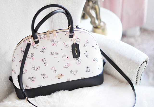 coach com outlet online o3tk  flower coach bag