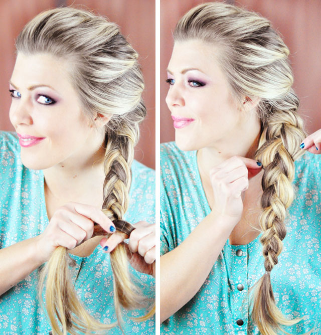Braid to The Front/over
