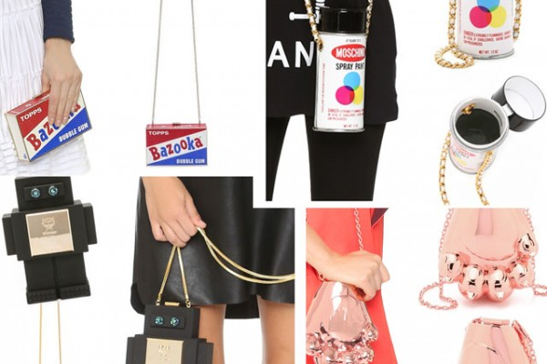 Genius novelty bags and clutches