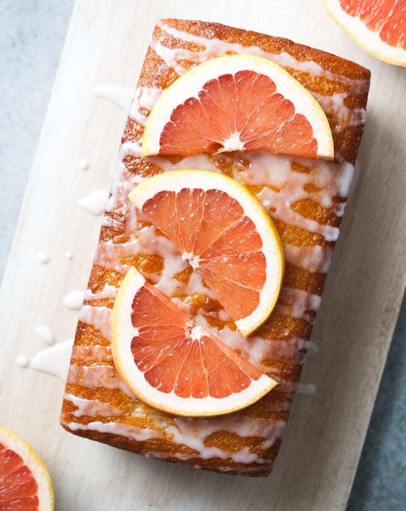 Dessert Recipe // Grapefruit Yogurt Cake | ...love Maegan