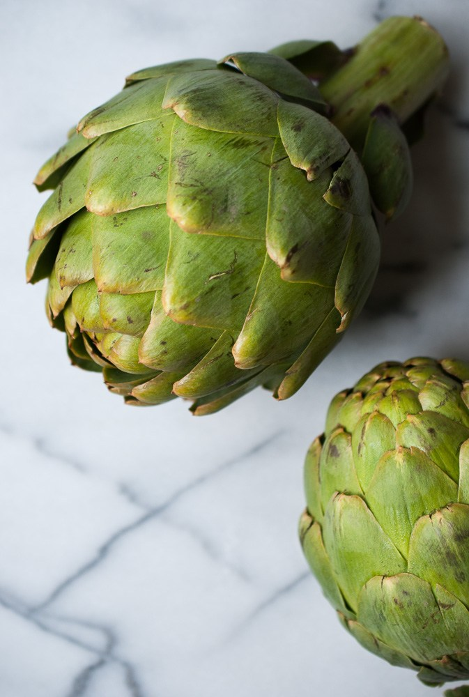 Grilled-Artichokes