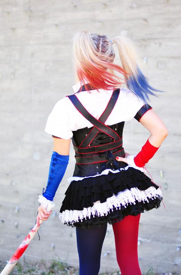 Harley Quinn Arkham Knight DIY Harness Tutorial
