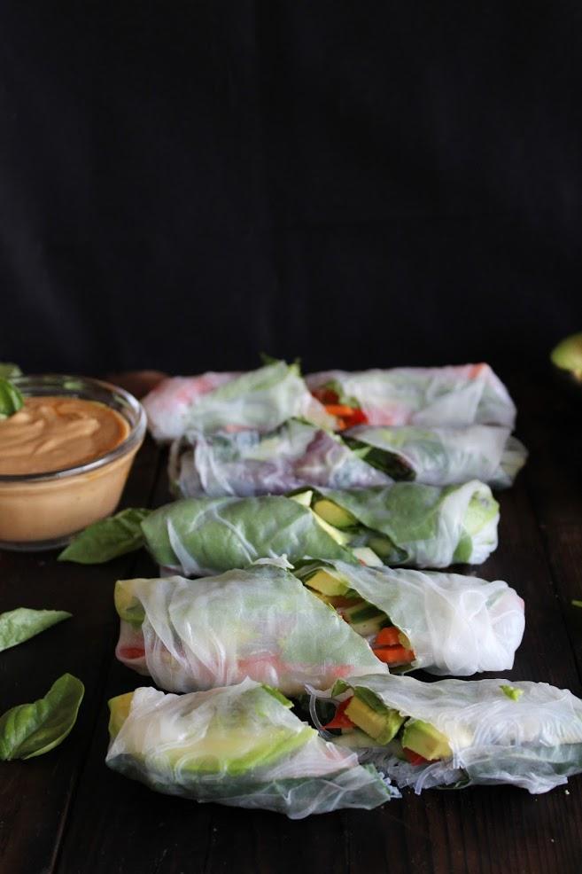 Fresh Summer Rolls - Veggie Recipes