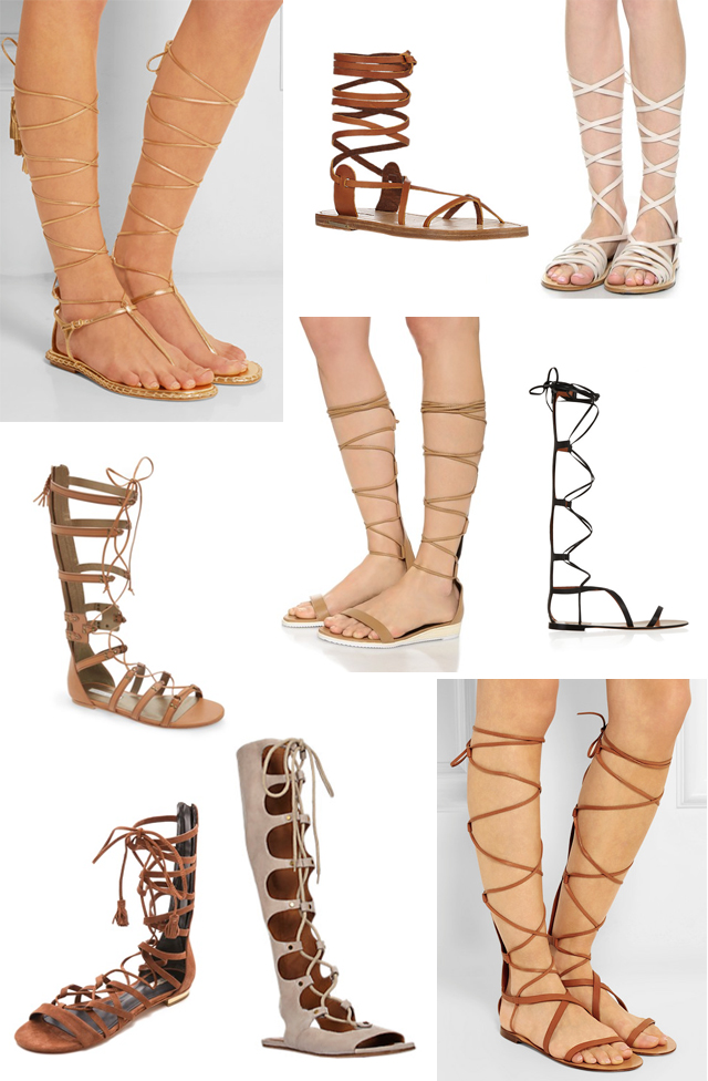 How to Use Gladiators Sandals
