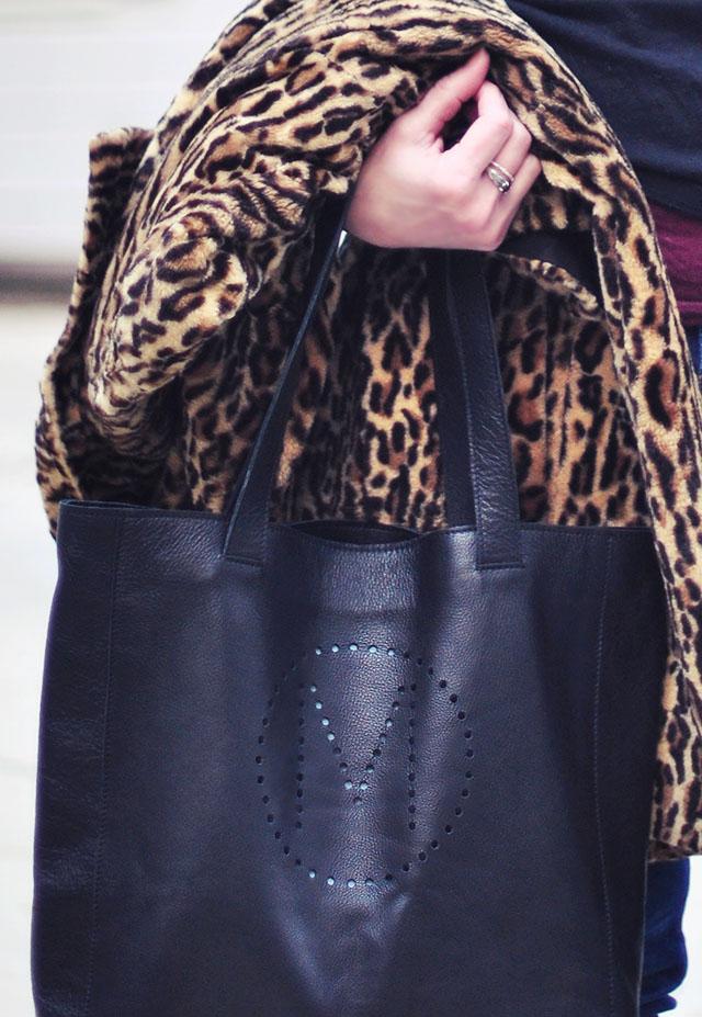 Leopard Coat_M monogrammed leather bag