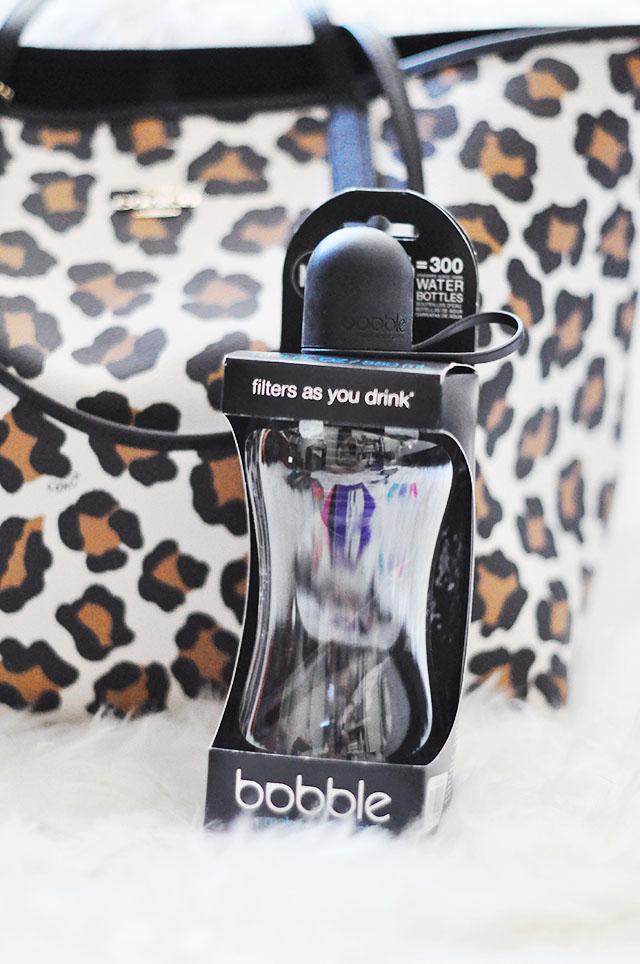 Leopard coach bag_Bobble water bottle