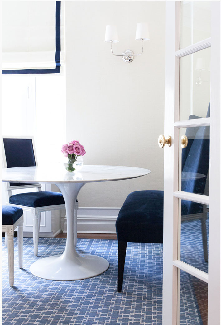 Lilly Bunn Interiors casual dining room
