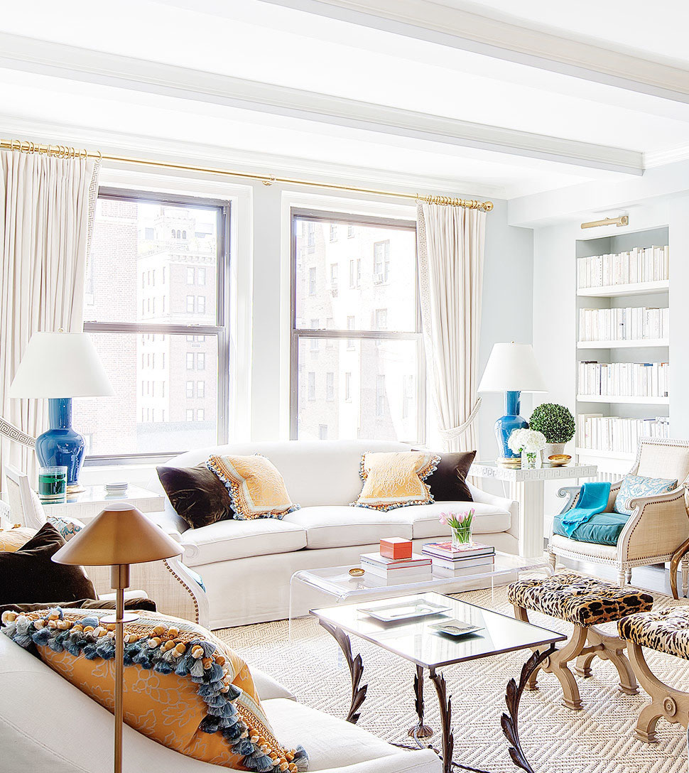 Lilly Bunn Interiors classic eclectic living room