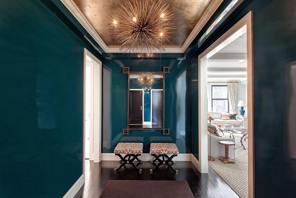 Lilly Bunn Interiors dark entryway