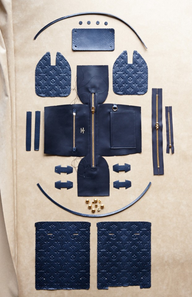 Louis Vuitton Speedy - in pieces