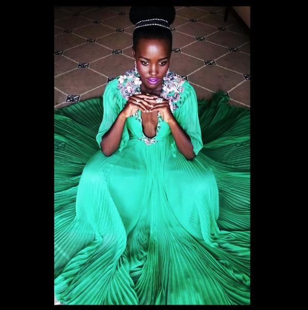 Lupita Nyongo_Green dress_Cannes 2015