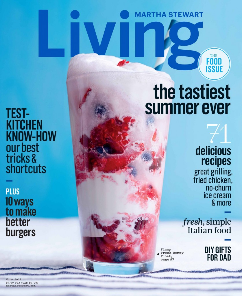 Martha Stewart June 2014 Cover