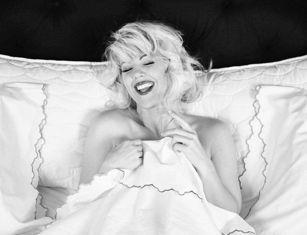 Marilyn in bed by love Maegan