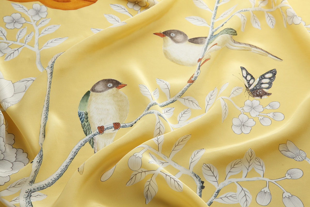 Met Gala Store Silk Scarves by de Gournay_3