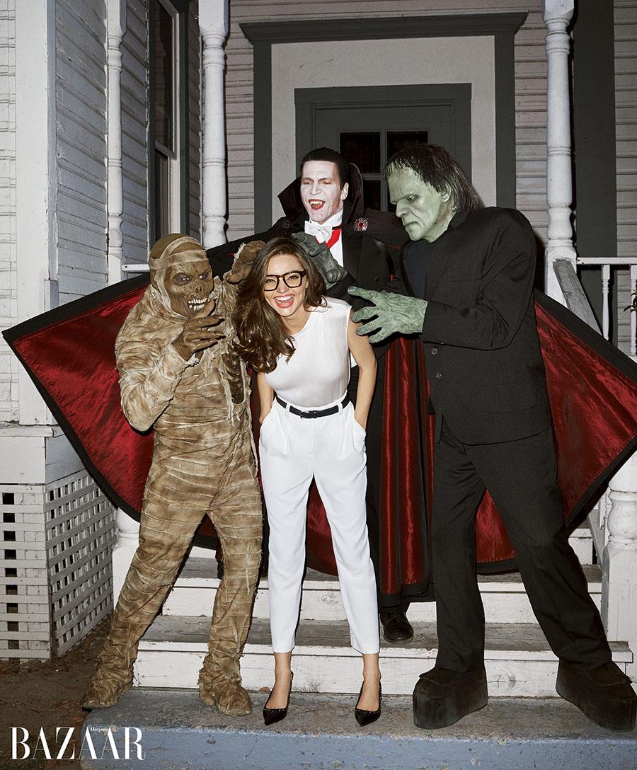 Miranda Kerr_Halloween_October_Bazaar-1