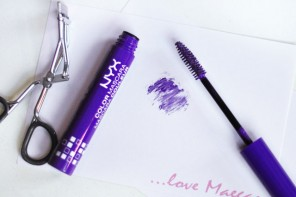 NYX Purple Mascara Review // #TargetStyle Real Talk Test Drive