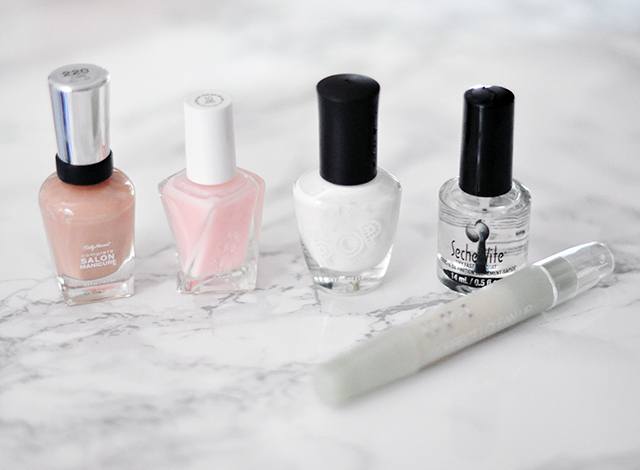Neutral nail polishes_modern french tip tutorial