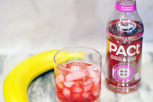 PACt Cranberry Water