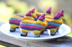 OMG CUTE! Cinco de Mayo Piñata Cookies