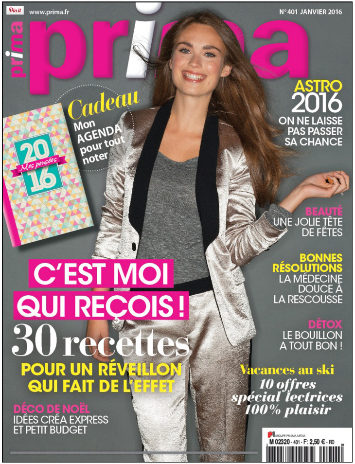 Prima janvier 2016 magazine