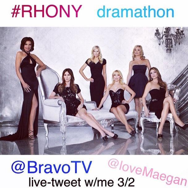 RHONY marathon bravo