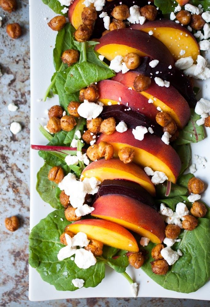 Roasted-Beet-Peach-Crispy-Chickpea-Salad-2