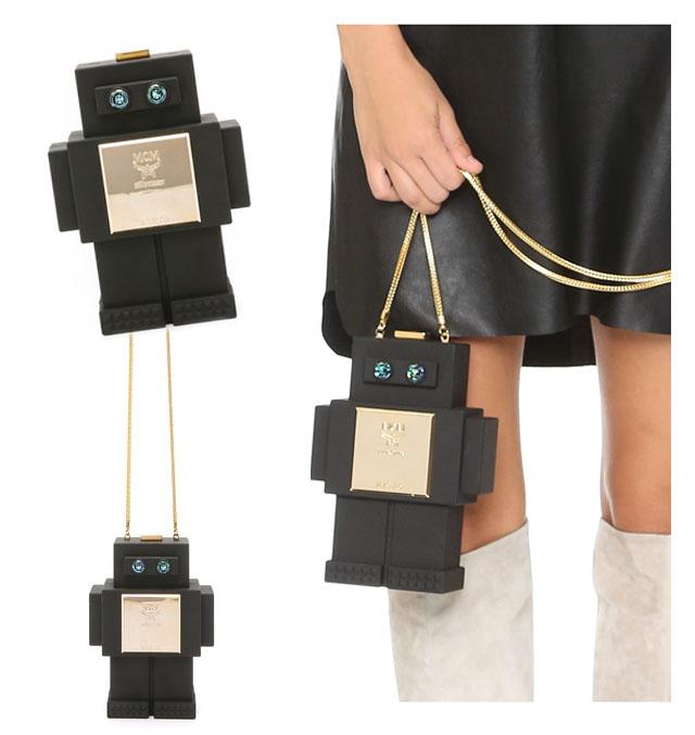 Robot bag by MCM