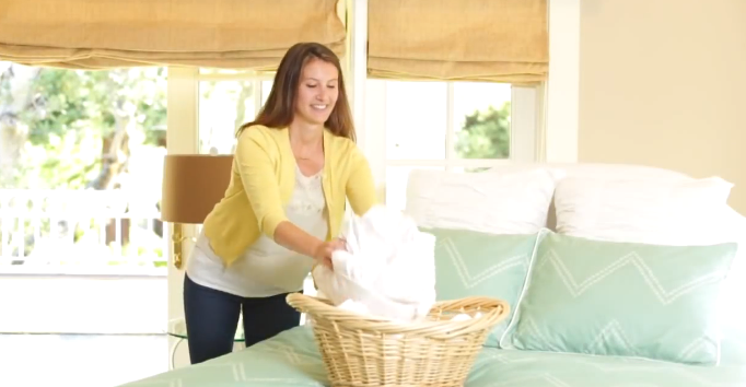 How to Fold a Fitted Sheet Perfectly Every Time