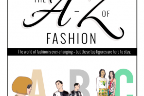The A-Z of Fashion // Info Graphic