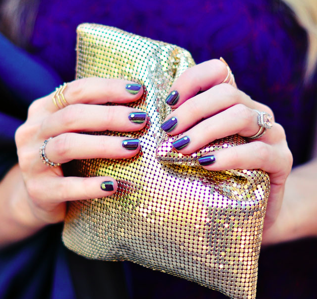 Fall Manicures-Jewel Toned Nails