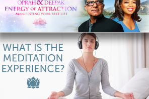 New Oprah & Deepak Meditation Experience Starts Today!