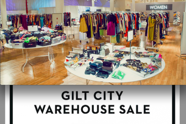 GILT City LA Warehouse Sale