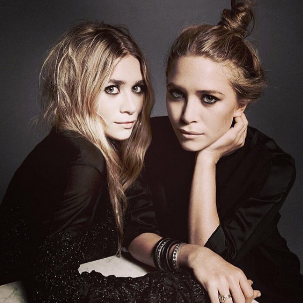 Mary Kate and Ashley Olsen ~ hair by Mark Townsend