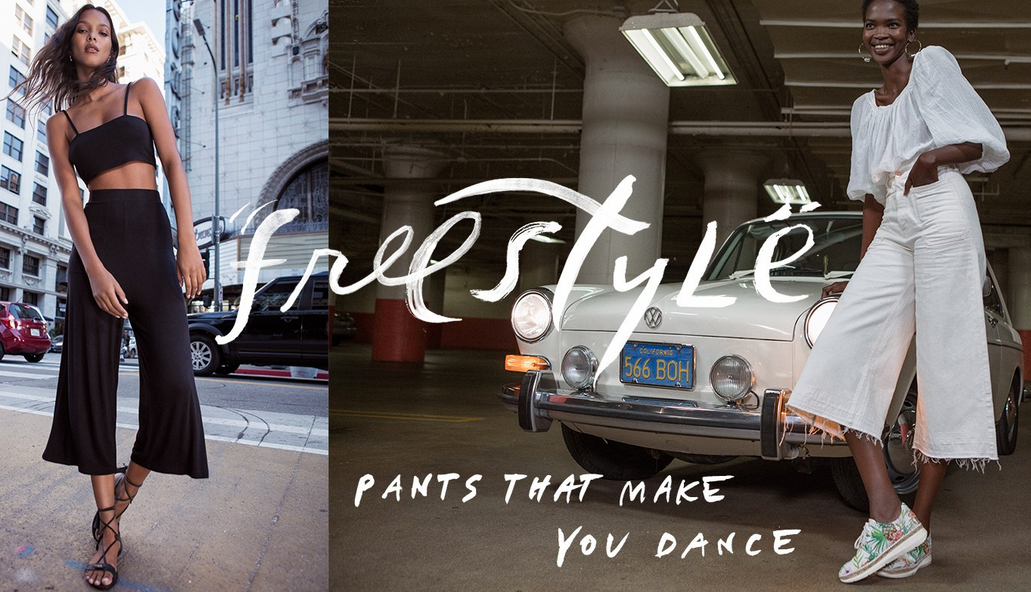 Free People Spring - Pants that make you dance