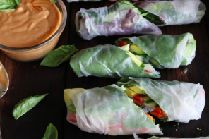 Food or Art // 3 Fresh Summer Rolls Recipes