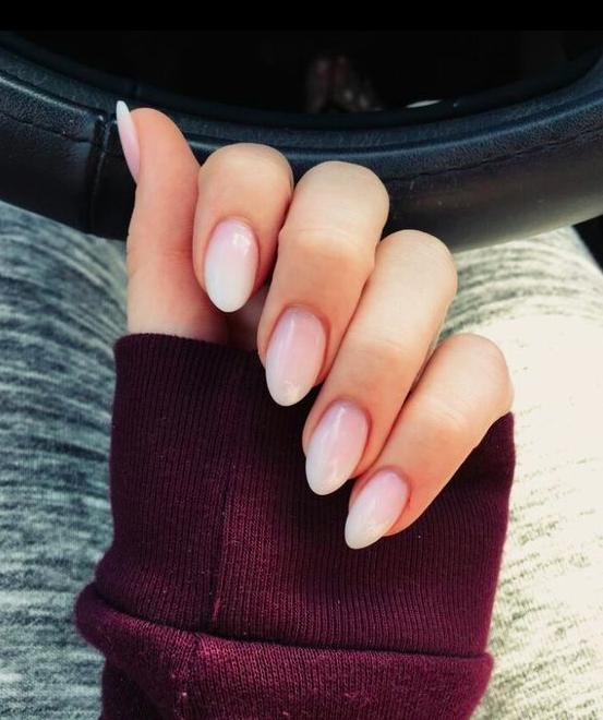 soft pink nails and nail art designs