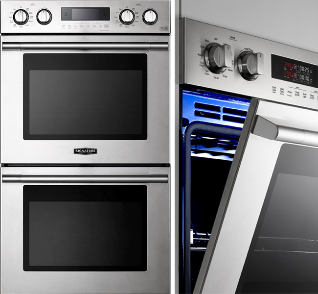 Kitchen Suite: The NEW Signature Kitchen Suite Double Wall Oven I'm