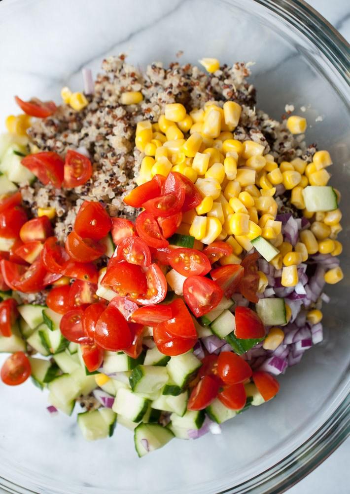 Summer Recipe // Simple Quinoa Salad | ...love Maegan
