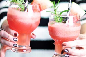 Smirnoff Ice® Watermelon Freeze FANtail Recipe for GameDay!