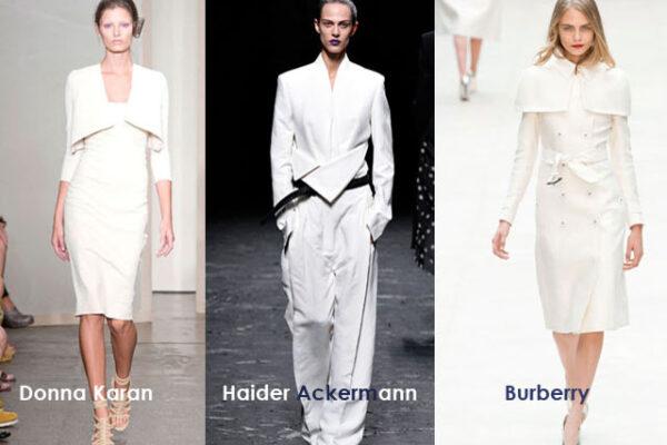 Spring Trends 2013 minimalist white