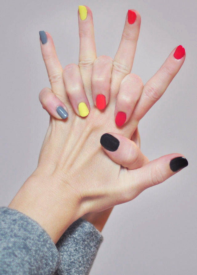 Stand UP To Cancer- nail art+nails+2