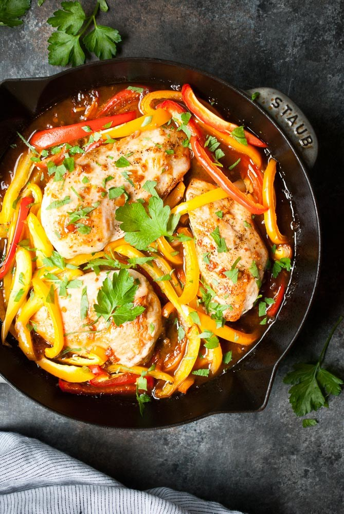 Sweet-Ginger-Glazed-Chicken-Peppers-3